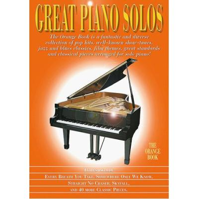 Great Piano Solos Orange Book