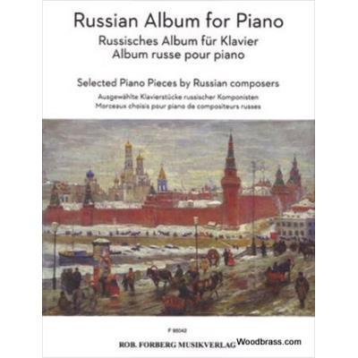 Partitions classique FORBERG RUSSIAN ALBUM FOR PIANO Piano