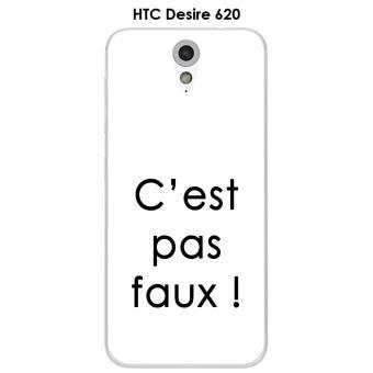 Coque HTC Desire 620 Citation