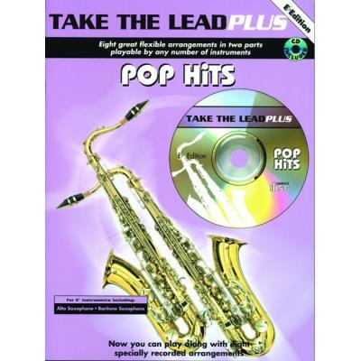 Partitions variété, pop, rock... FABER MUSIC TAKE THE LEAD PLUS - POP HITS + CD - EB INSTRUMENTS Vents