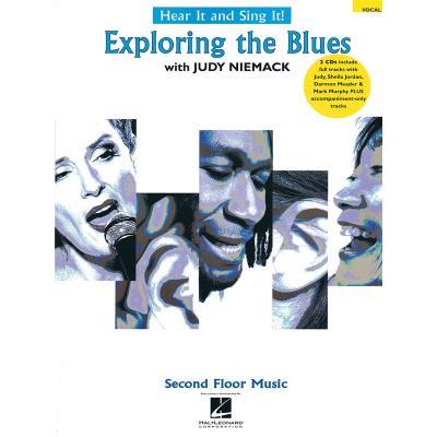 Méthodes et pédagogie HAL LEONARD HEART IT AND SING IT EXPLORING THE BLUES VOCAL COLLECTION + CD - VOICE Chant