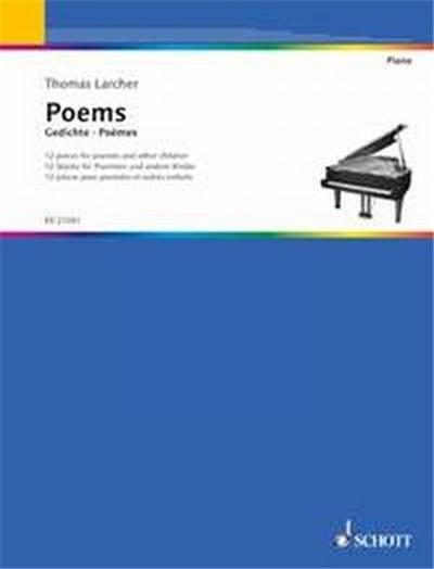Larcher Thomas Poemes (12 Pieces Pour Enfants) - Piano