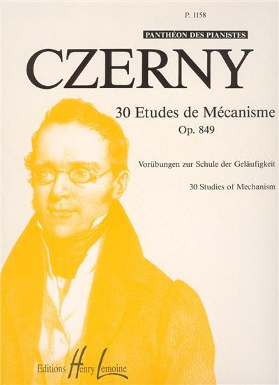 ETUDES DE MECANISME (30)OP 849