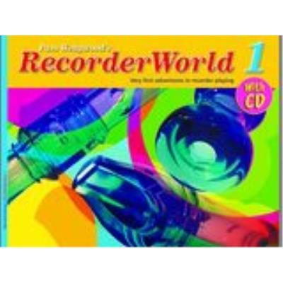 Méthodes et pédagogie FABER MUSIC WEDGWOOD PAM - RECORDERWORLD 1 + CD - RECORDER Flûte à bec