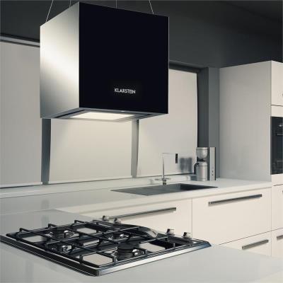 klarstein kronleuchter hotte hotte ilot largeur 45 cm profondeur 45 cm recyclage noir