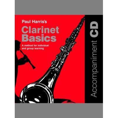 Méthodes et pédagogie FABER MUSIC HARRIS PAUL - CLARINET BASICS + CD - CLARINET Clarinette