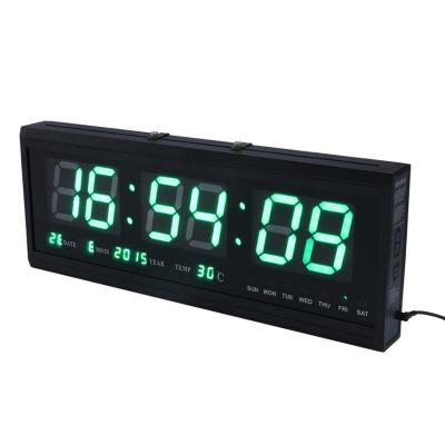 20 Sur Horloge Numerique Led Horloge Avec Calendrier Affichage De Temperature Horloge Murale Digitale Pendule Murale Electronique Autre Gadget Achat Prix Fnac