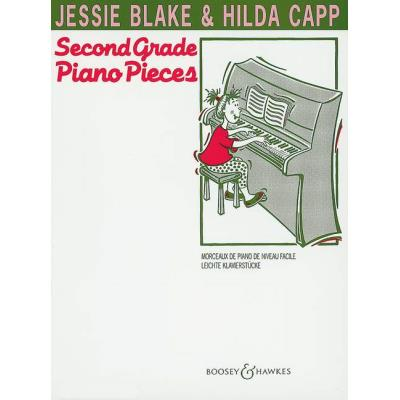 Partitions classique BOOSEY & HAWKES BLAKE JESSIE - SECOND GRADE PIANO PIECES - PIANO Piano