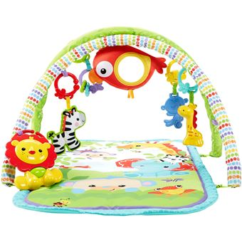 tapis d eveil fisher price amis de la jungle 3 en 1