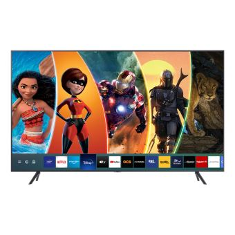 tv samsung ue55tu7125 4k uhd smart tv 55 application disney disponible argent carbone
