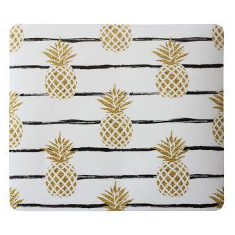 tapis de souris it works color series ananas