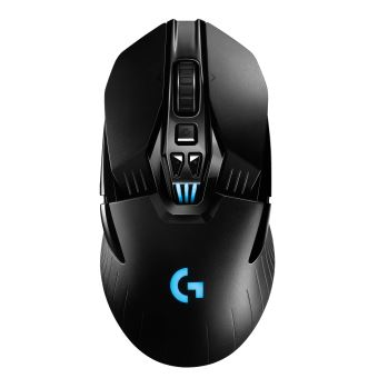 souris gaming sans fil logitech g903 hero lightspeed 2 4 ghz noire