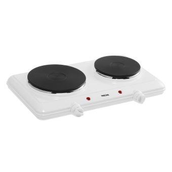 table de cuisson electrique proline 2250 w blanc