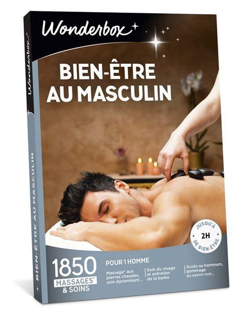 Smartbox Bien Etre Et Soins Relaxants : smartbox, soins, relaxants, Coffret, Cadeau, Wonderbox, Bien-, être, Masculin, Achat