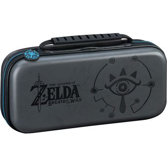 pochette de transport bigben deluxe officielle the legend of zelda breath of the wild noir pour nintendo switch 2 boites de rangement pour jeux 2