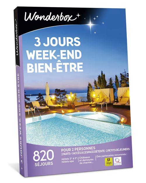 Smartbox Bien Etre Et Spa : smartbox, Coffret, Cadeau, Wonderbox, Jours, Weekend, Bien-Être, Achat