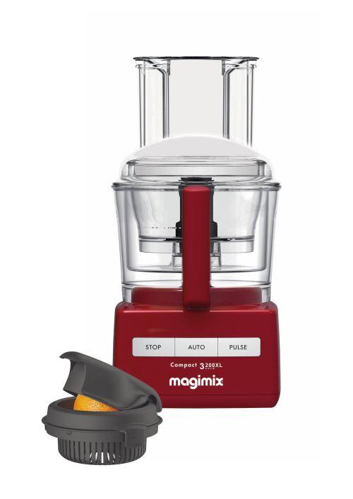robot multifonction magimix c 3200 xl 650 w rouge