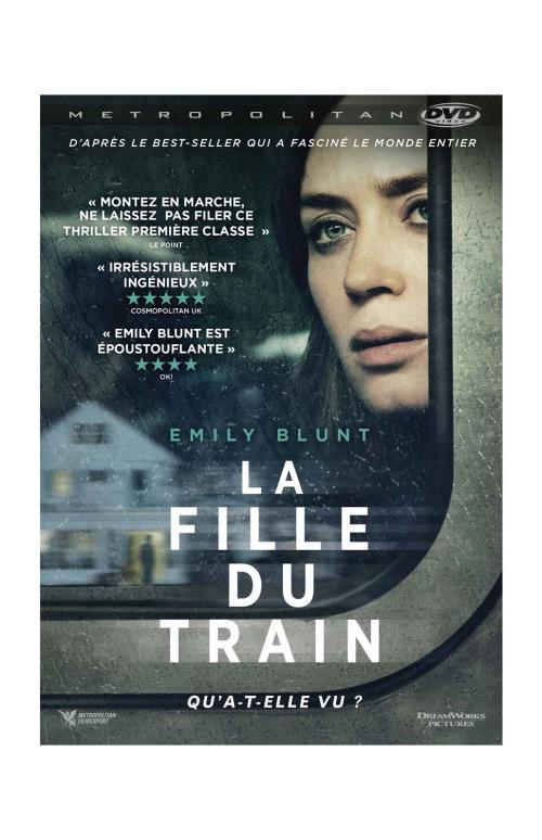 La Fille Du Train Film : fille, train, Fille, Train, Taylor, Achat