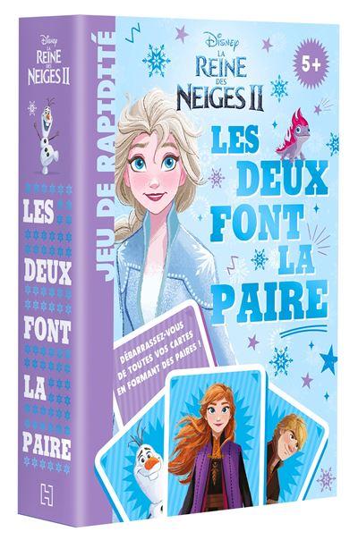 La Reine Des Neiges Le Jeu : reine, neiges, Reine, Neiges, REINE, NEIGES, Cartes, Paire, Disney, Achat, Livre