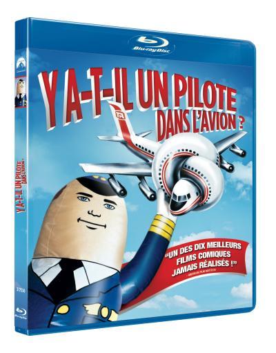 Y'a T Il Un Pilote Dans L'avion : pilote, l'avion, Y-a-t-il, Pilote, L'avion, Blu-Ray, Abrahams,, David, Zucker, Blu-ray, Achat