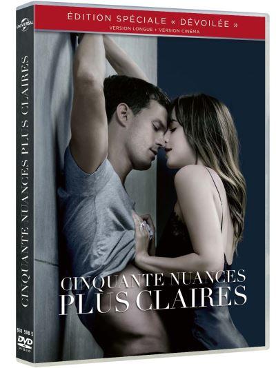 50 Nuances De Grey Plus Sombre : nuances, sombre, Cinquante, Nuances, Claires, Achat
