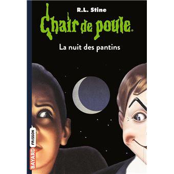 Chair De Poule La Nuit Des Pantins Tome 02 Chair De Poule