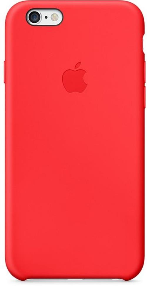 coque apple pour iphone 6 silicone rouge