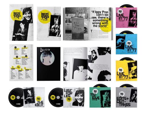 The Bowie Years Edition Limitée Coffret - Iggy Pop - CD album ...