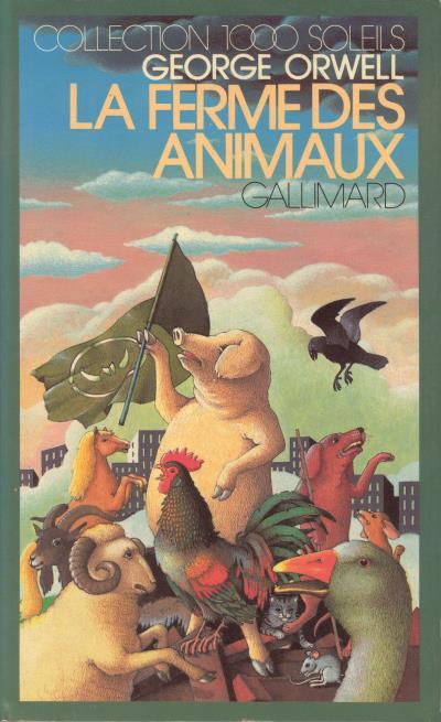 La Ferme Des Animaux Livre : ferme, animaux, livre, Ferme, Animaux, George, Orwell, Achat, Livre