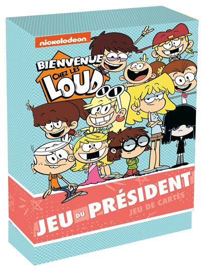 Jeu Bienvenue Chez Les Loud : bienvenue, Bienvenue, Boites, Cartes, Président, Collectif, Achat, Livre