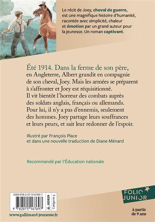 Cheval De Guerre Michael Morpurgo : cheval, guerre, michael, morpurgo, Cheval, Guerre, Poche, Michael, Morpurgo,, André, Dupuis,, François, Place, Achat, Livre, Ebook