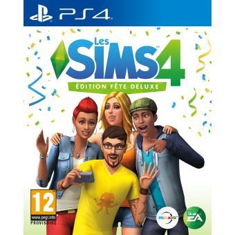 Les Sims 4 Edition Fête Deluxe PS4 - Jeux vidéo - Achat & prix | fnac