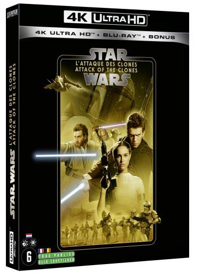 Star Wars L'attaque Des Clones Vf Hd : l'attaque, clones, Ultra, Blu-ray, Episode, L'Attaque, Clones