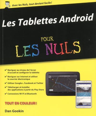 Tablette Pour Les Nuls Pdf : tablette, Tablettes, Androïd, Gookin,, Daniel, Rougé, Broché, Achat, Livre