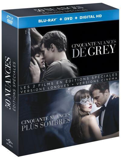 Coffret 50 Nuances De Grey : coffret, nuances, Coffret, Cinquante, Nuances, Grey,, Sombres, Blu-ray, Achat