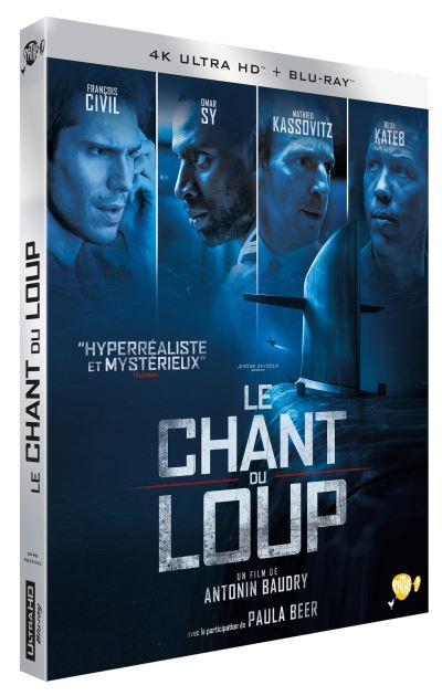 Le Chant Du Loup Definition : chant, definition, Chant, Blu-ray, Ultra, Antonin, Baudry, Achat