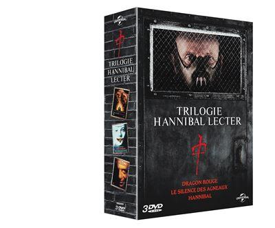 Le Silence Des Agneaux Trilogie : silence, agneaux, trilogie, Coffret, Hannibal, Lecter, Films, Brett, Ratner,, Ridley, Scott,, Jonathan, Demme, Achat