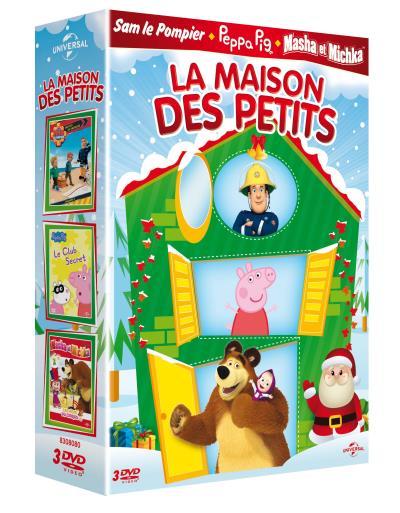 Maison De Masha Et Michka : maison, masha, michka, Coffret, Maison, Petits, Films, Achat