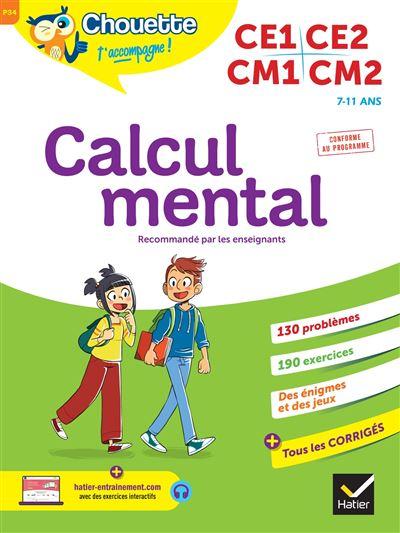 Jeux De Calcul Mental Cm1 : calcul, mental, Calcul, Mental, Broché, Lydie, Treffort,, Roland, Charnay, Achat, Livre