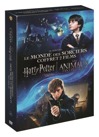 Les Animaux Fantastiques Harry Potter : animaux, fantastiques, harry, potter, Coffret, Harry, Potter, L'école, Sorciers, Animaux, Fantastiques, David, Yates, Achat