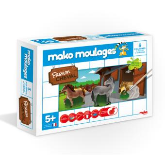Mako Moulages Passion Cheval 3 Moules Poterie Fnacbe
