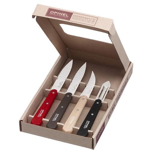 coffret couteaux de cuisine opinel les essentiels loft