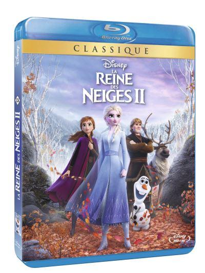 La Reine Des Neiges Dvd : reine, neiges, Reine, Neiges, Blu-ray, Achat
