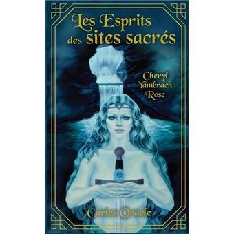 Coffret : Les esprits des sites sacrés, cartes oracle