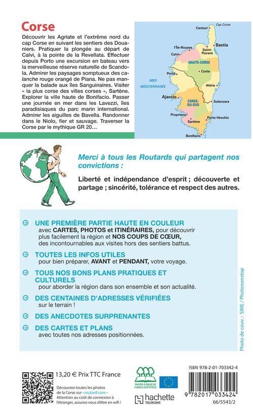 Le Guide Du Routard Corse : guide, routard, corse, Guide, Routard, Corse, Edition, Broché, Collectif, Achat, Livre