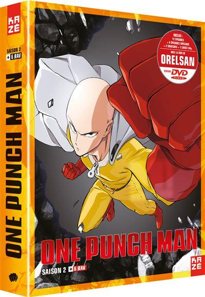 One Punch Man Saison 2 Episode 1 Vostfr : punch, saison, episode, vostfr, Coffret, Punch, Saison, Edition, Collector, Achat