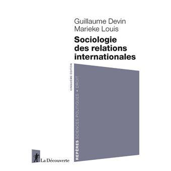 Sociologie des relations internationales (Nouvelle édition