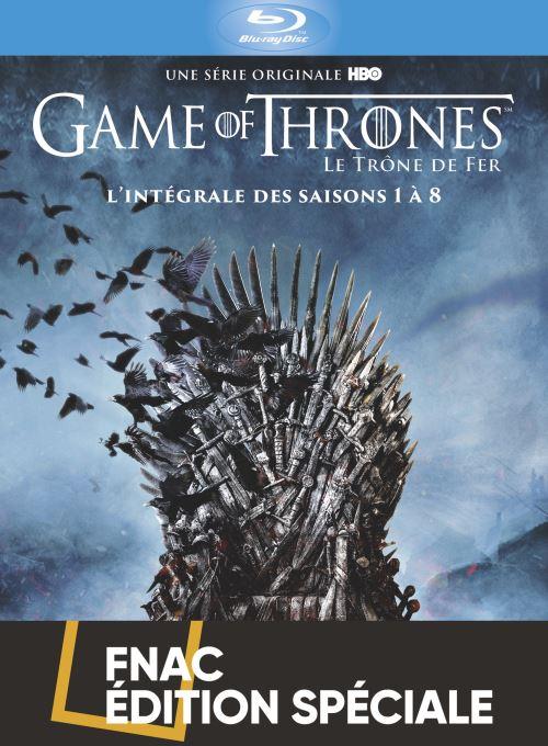 Coffret Intégrale Game Of Thrones Livre : coffret, intégrale, thrones, livre, Coffret, Thrones, L'intégrale, Edition, Spéciale, Blu-ray, Achat