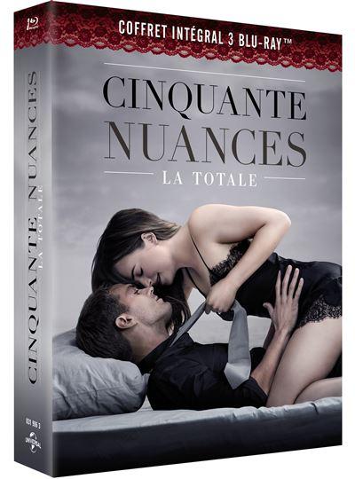 Coffret 50 Nuances De Grey : coffret, nuances, Coffret, Cinquante, Nuances, L'intégrale, Blu-ray, Achat