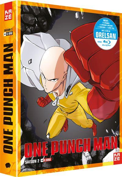 One Punch Man - Episode 2 Vostfr Saison 2 : punch, episode, vostfr, saison, Coffret, Punch, Saison, Edition, Collector, Blu-ray, Achat